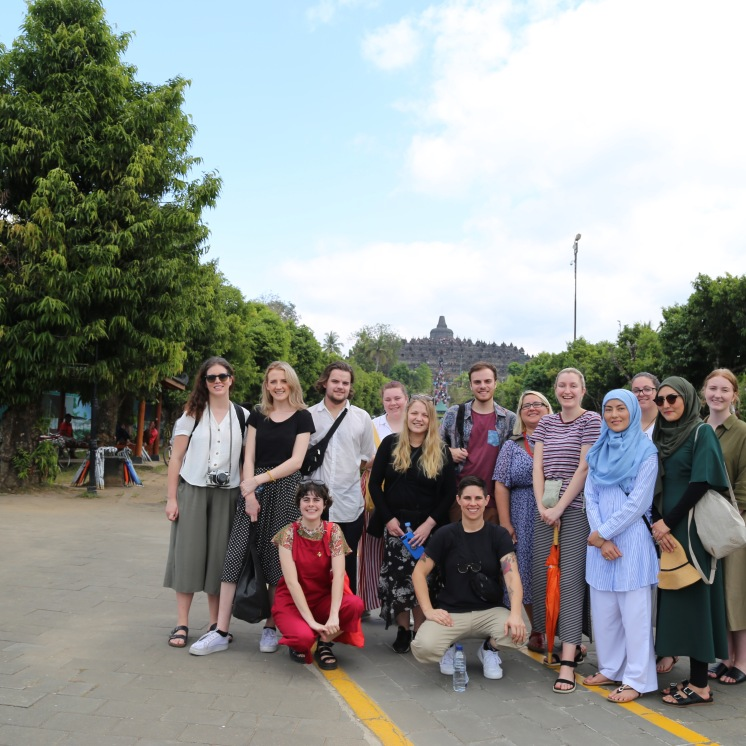 Students were much excited to visit Borobudar and Prambanan Temple. Each layer of the temple new stories unfolded and we learnt about the temple's historical survival from earth quakes to volcano eruptions and how it has survived for generations.