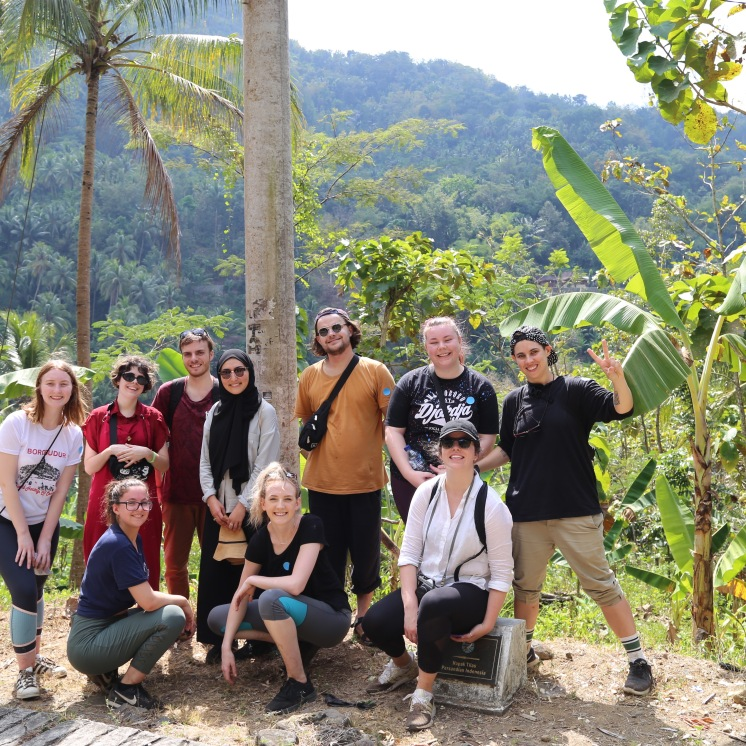 Last day in Indonesia students went hiking to immerse themselves in the beautiful agriculture areas with breath taking sceneries.